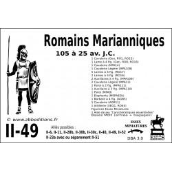 DBA 3.0 - 2/49 Romains Marianiques