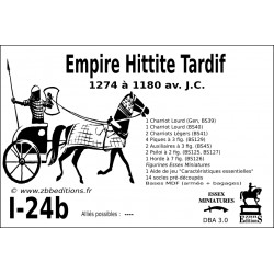 DBA 3.0 - 1/24b Empire Hittite Tardif