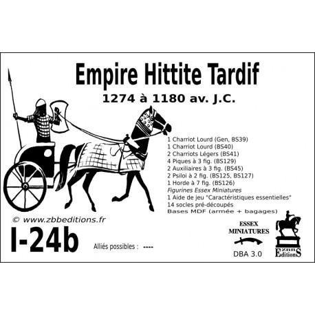 DBA 3.0 - 1/24b Empire Hittite Tardif