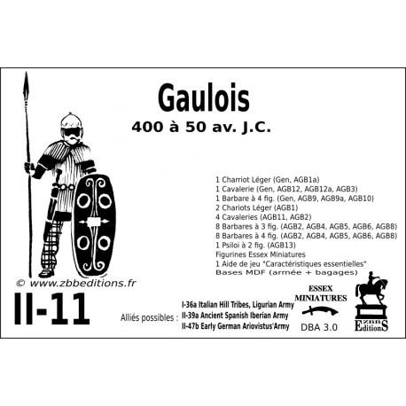 DBA 3.0 - 2/11 Gaulois