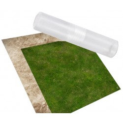 Duo de Tapis de Jeu - Wasteland & Grass - 60 cm x 60 cm