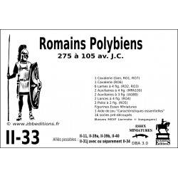 DBA 3.0 - 2/33 Romains Polybiens