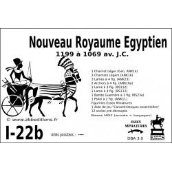 DBA 3.0 - 1/22b Nouveau Royaume Egyptien