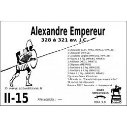 DBA 3.0 - 2/15 Alexandre Empereur