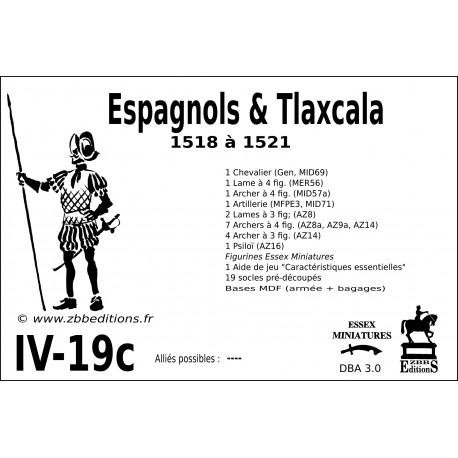 DBA 3.0 - 4/19c Espagnols & Tlaxcala