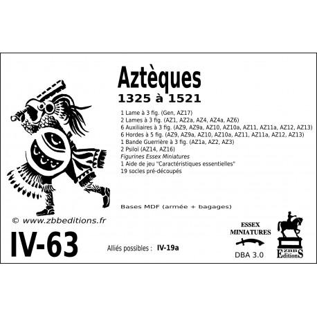 DBA 3.0 - 4/63 Aztèques