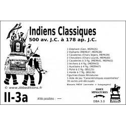 DBA 3.0 - 2/3a Indiens Classiques