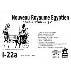 DBA 3.0 - 1/22a Nouveau Royaume Egyptien