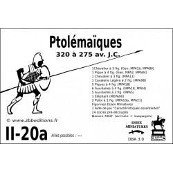 DBA 3.0 - 2/20a Ptolémaïques