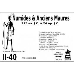 DBA 3.0 - 2/40 Numides & Maures Anciens