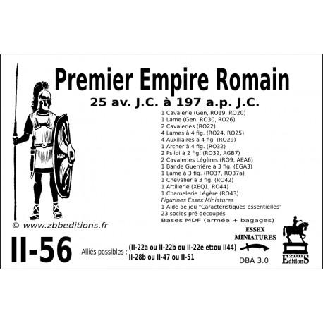 DBA 3.0 - 2/56 Premier Empire Romain