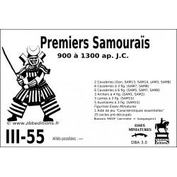 DBA 3.0 - 3/55 Premiers Samouraïs