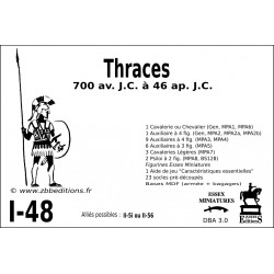 DBA 3.0 - 1/48 Thraces