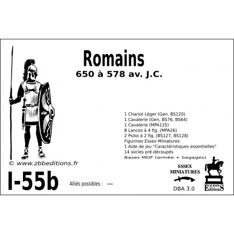 DBA 3.0 - 1/55b Romains