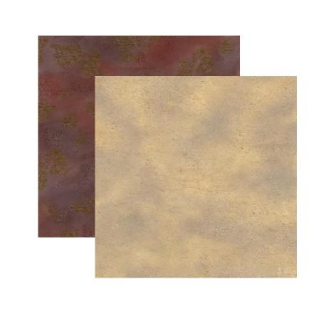 Duo de Tapis de Jeu - 60 cm x 60 cm - Broussaille & Désert
