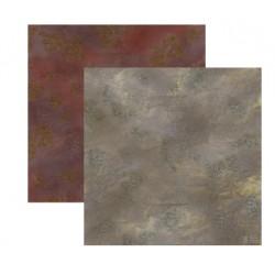 Duo de Tapis de Jeu - 60 cm x 60 cm - Broussaille & Rocaille