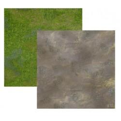 Duo de Tapis de Jeu - 60 cm x 60 cm - Plaine & Rocaille