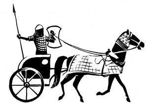 Char Hititte Illustration de Stanislas Gros