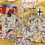 Bataille de Tanenberg Illustration tirée des Chroniques de Dielbold Schilling l'Ancien